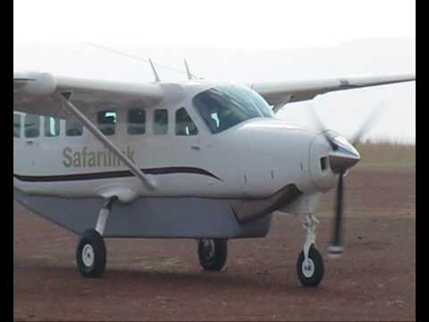 Flight Mara Serena airstrip to Nairobi / Wilson airport / Kenya