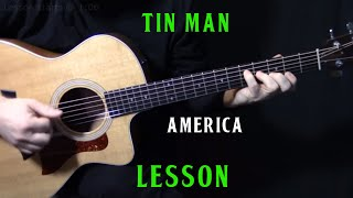 "Gambar cover how to play ""Tin Man"" on guitar by America 
