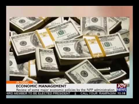 Economic Management - Business Today on joy News (12-12-16)