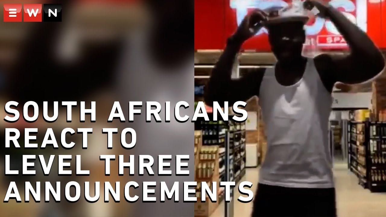 Cheers! SA celebrates the sale of alcohol on level three - Eyewitness News