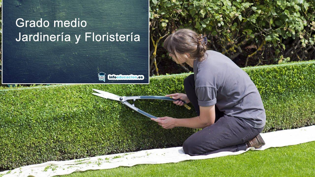 Grado Medio Jardinería Y Floristería Fp Loe