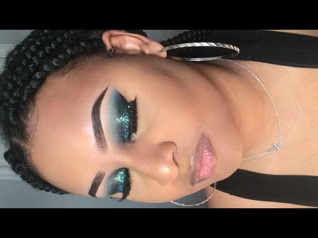 Aqua Ocean Inspired Makeup- Easy Makeup Tutorial