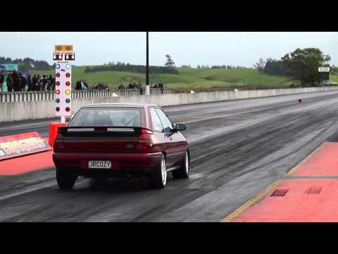 JRCOZY Ford Laser TX3 runs 11 flat