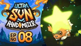 A SHINY ENCOUNTER! | Pokémon Ultra Sun Randomizer Nuzlocke - Episode 08