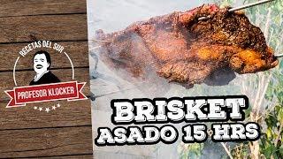 Brisket Asado 15 Horas - Recetas del Sur