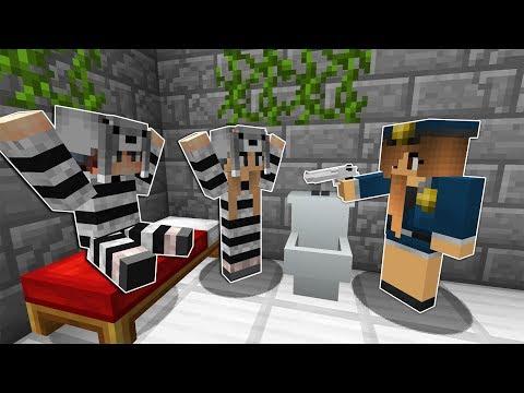 SEVGİLİMLE BENİ KIZ POLİS HAPİSHANEYE ATTI! 😱 - Minecraft