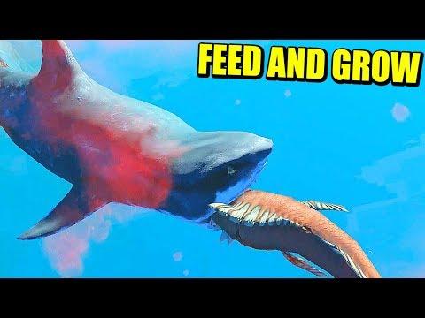 EL TITÁN DEL OCÉANO - FEED & GROW: FISH | Gameplay Español