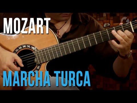 Mozart - Marcha Turca (aula de violão clássico | Turkish March)