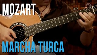 Mozart - Marcha Turca (aula de violão clássico | Turkish March)
