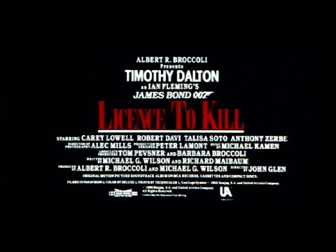 Promo Trailer #1  - Licence to Kill 1989