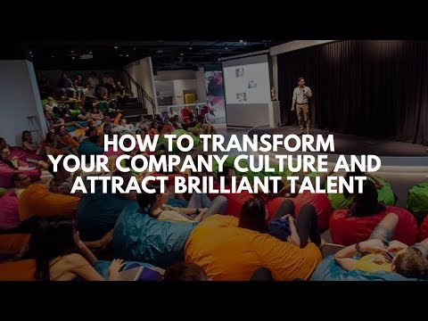 How To Transform Your Company Culture And Attract Brilliant Talent | Vishen Lakhiani