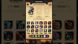 AFK Arena - New Update Mercenaries, hero revert and new hero Rowan