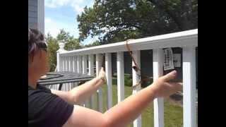 Hanging a Deck/Balcony or porch Gutter Garden planter