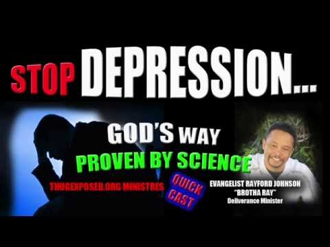 CURE FOR DEPRESSION....NO PILLS.....POWERFUL!!!!!
