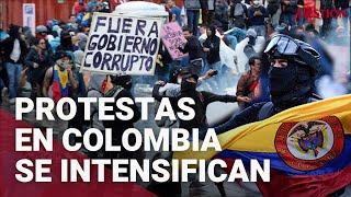 Protestas en Colombia contra la reforma tributaria deja al menos 19 fallecidos y más de 800 heridos