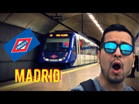 Metro De Madrid!! Tips De Mi Llegada A España