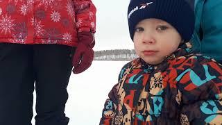 Рыбалка на Водопьянихе. Варим уху на льду.