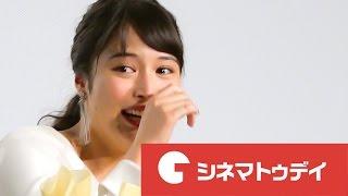 女優の広瀬アリスが25日、都内で行われた主演映画『L−エル−』の初日舞台...