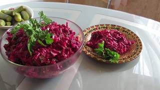 Салат из свеклы с черносливом!