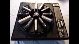 Vintage QATRON Stereo 48 8 Track Carousel Player