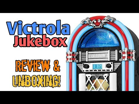 Victrola Jukebox Review & Unboxing!