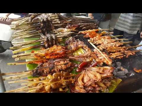 Food Tour Around Phnom Penh - Amazing Street Food In Cambodia 2018- Fast Asian Food