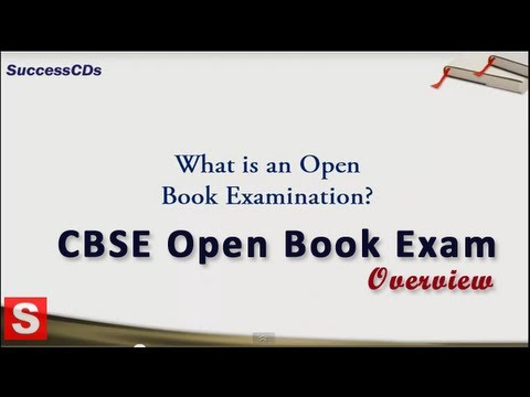 cbse open book exam system youtube