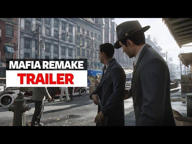 Mafia: Definitive Edition Trailer - Mafia 1 Remake 4K Trailer