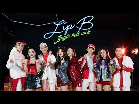JINGLE BELL ROCK l LIP B l OFFICIAL DANCE MUSIC VIDEO