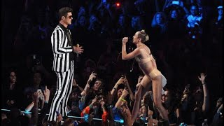 """Miley Cyrus Performs """"We Can&#..."""