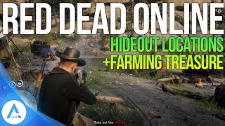 All Gang Hideout Locations: How Hideouts Work, Getting Treasure Maps & More – Red Dead Online RDR2