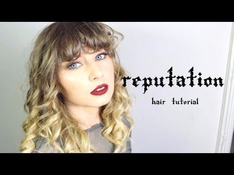 Taylor Swift Reputation Hair Tutorial | Rebecca Smile