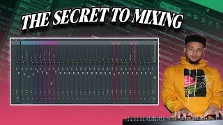 The SECRET To Mixing Beats (Fl Studio 20 Tutorial)