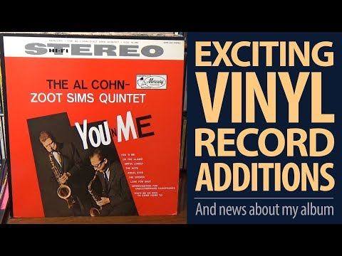 EXCITING Vinyl Additions! Zoot Sims, Al Cohn, Grapelli & More! Jazz & Blues Records