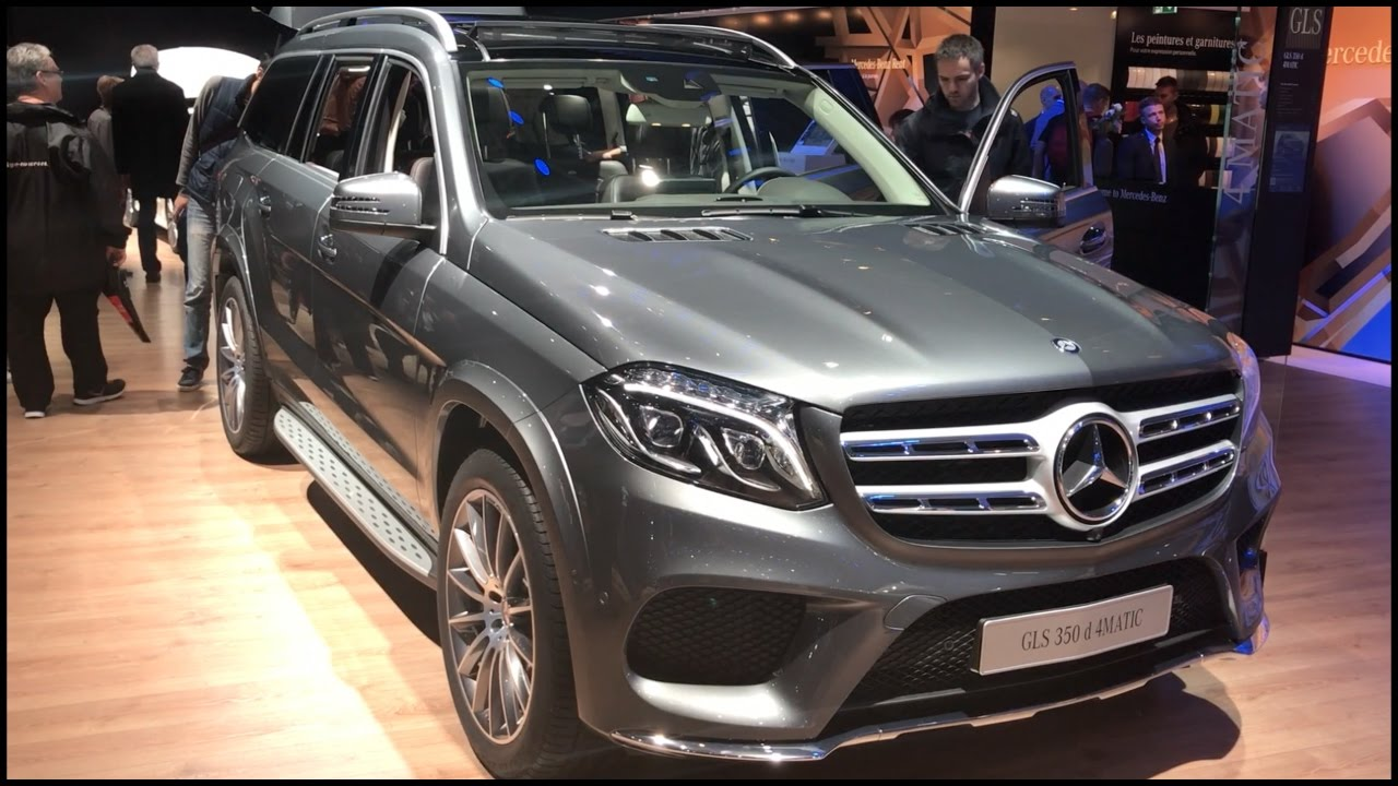 Mercedes Benz Gls 350 D 4matic 2017 In Detail Review