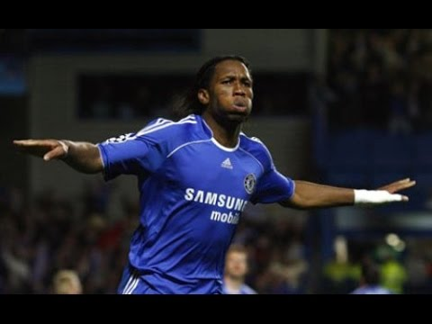 Didier Drogba : Top 10 Goals in Chelsea FC