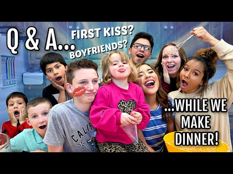FIRST KISS? | BOYFRIENDS AND GIRLFRIENDS | Q&A!