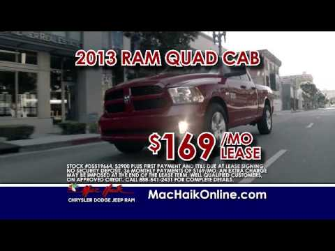 Mac Haik Dodge Chrysler Jeep Ram Georgetown September Television Ad