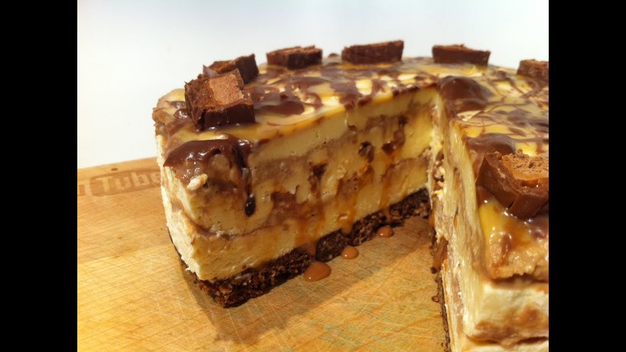How To Make Mars Bar Cheesecake No Bake Youtube