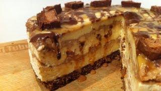 How To Make Mars Bar Cheesecake: No Bake