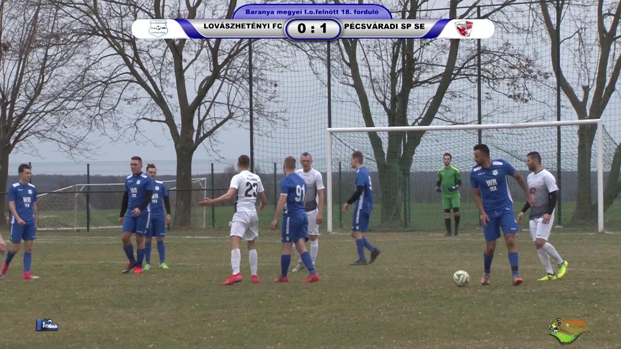 LOVÁSZHETÉNYI FC - PÉCSVÁRADI SPARTACUS SE 1 - 4 (0 - 3)
