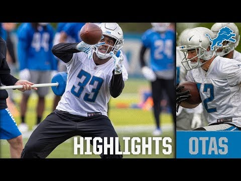 Watch: Examining video from day 3 of Lions OTAs