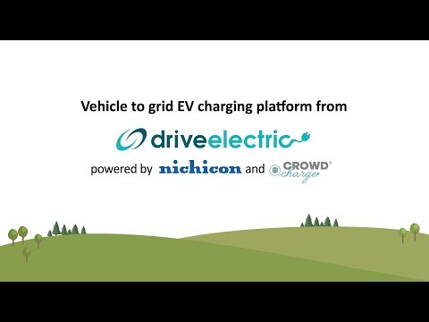Vehicle to Grid EV charging platform from Drive Electric