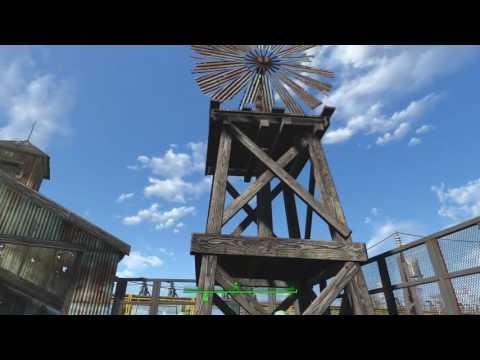 Fallout 4 The Large Barge Settlement update (read description)