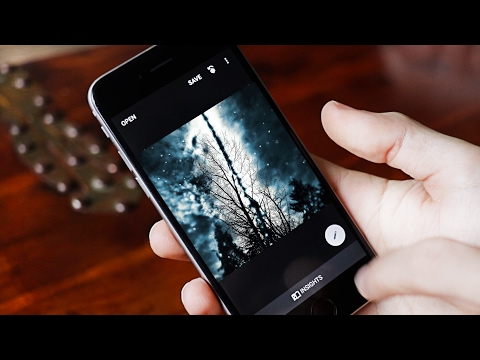 PHOTO EDIT LIKE a PRO | Best FREE iPhone EDITING Apps 2017