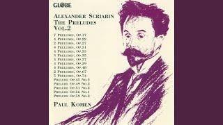 "5 Preludes, Op. 74: III. ""Allegro drammatico"""