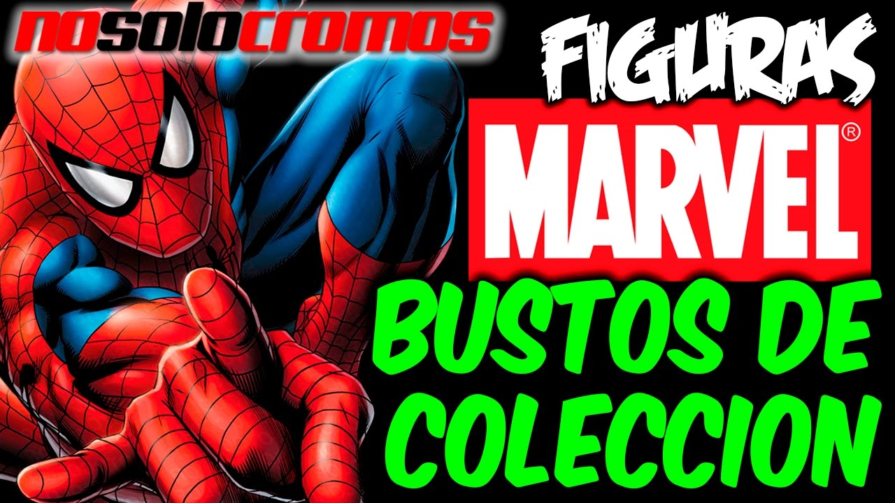 Spiderman bustos de coleccion figuras super heroes for Figuras marvel altaya