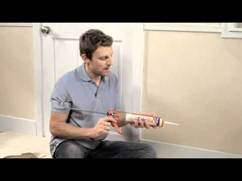 How To Fill A Gap Between The Wall And Your Coving Or