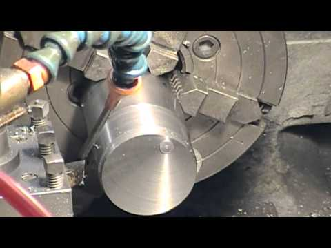 Gadgets and Gizmos - Eccentric turning for crank pin with 4 jaw, demo