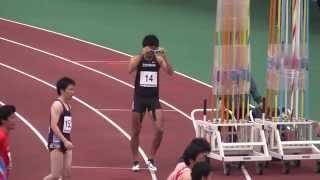 東日本実業団2015男子100m予選3組藤光謙司10.27(+1.7) 自己新 藤光謙司 検索動画 29